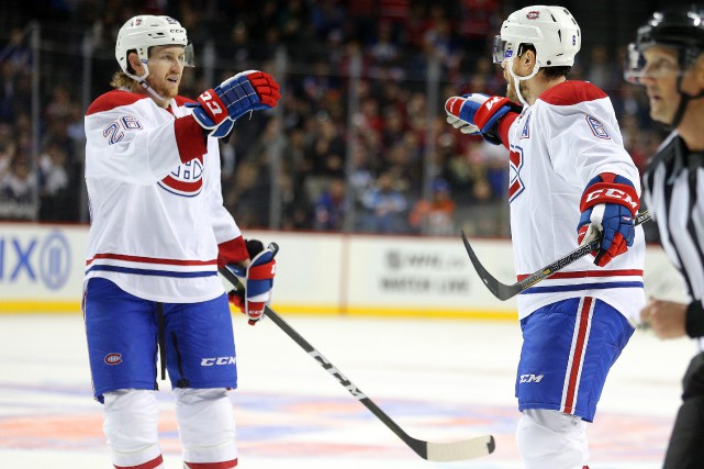Jeff Petry (à gauche) se retrouvait à la... (Photo archives USA Today Sports)