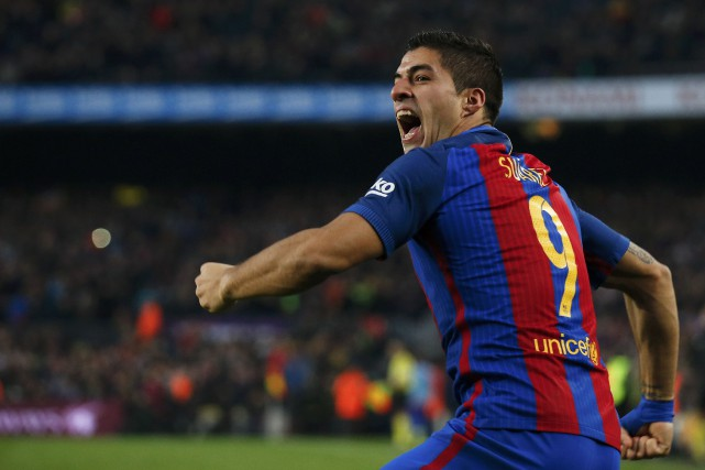 Luis Suarez... (Photo Albert Gea, REUTERS)