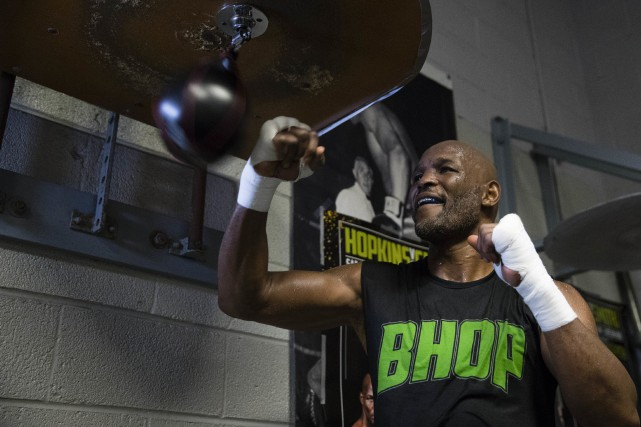 Bernard Hopkins... (PHOTO Matt Rourke, AP)