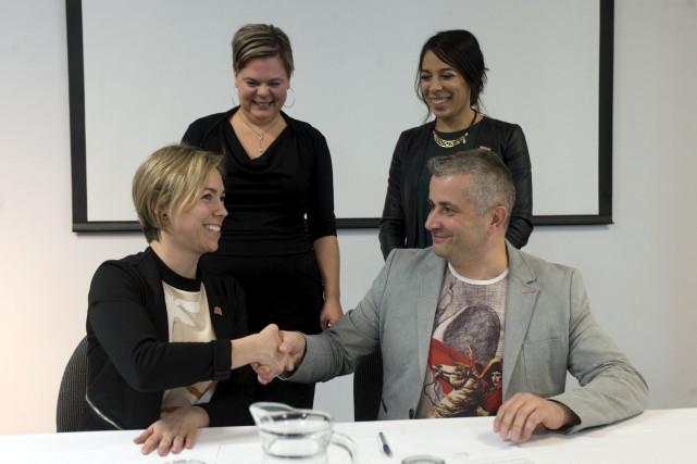 Un partenariat entre le Musée québécois de culture... (Stéphane Lessard)