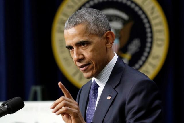 Barack Obama... (PHOTO Yuri Gripas, REUTERS)