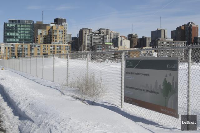 La nouvelle Bibliothèque centrale d'Ottawa pourrait être construire... (Archives, Le Droit)