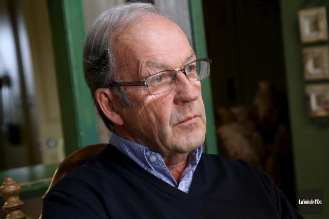 Le président de la SACS, Marcel Bundock a... (archives La Voix de l'Est)