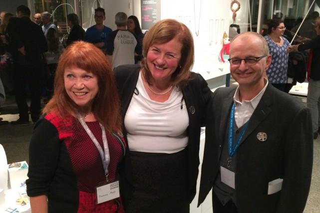 Diane Laurier, qu'on voit au centre, a été... (Photo courtoisie)