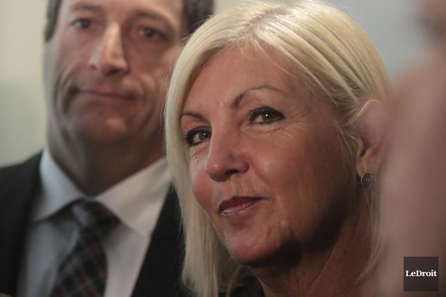 La députée de Hull, Maryse Gaudreault... (Archives, Le Droit)