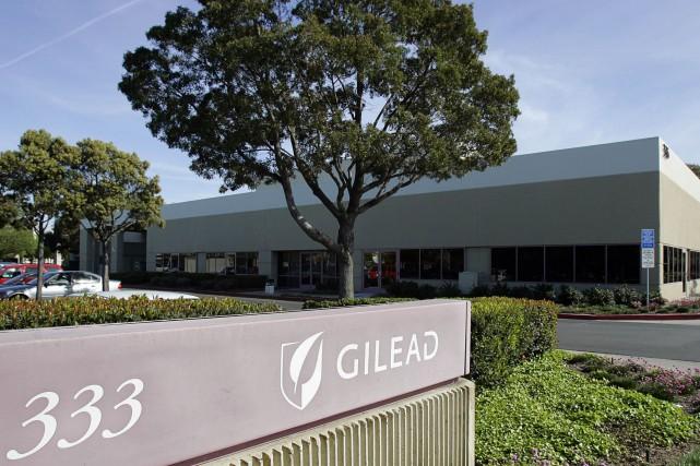 Le laboratoire pharmaceutique américain Gilead a été condamné jeudi par un... (PHOTO Kimberly White, Bloomberg News)