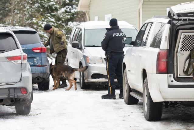 L'opération policière «Bouboule» a eu lieu le 23... (Spectre Média, Jessica Garneau)