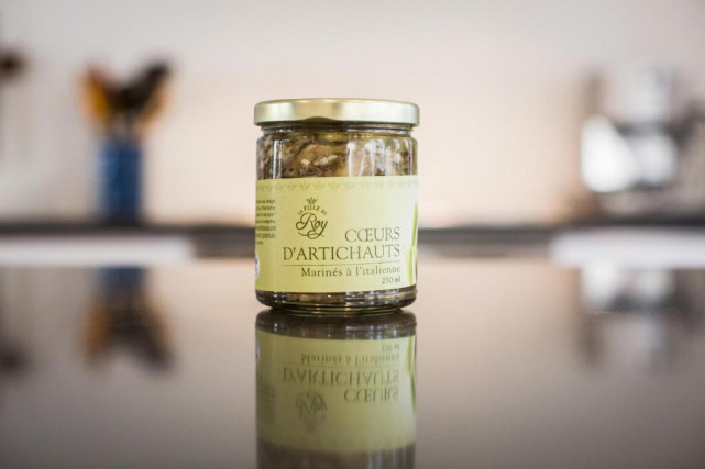 Coeurs d'artichauts marinés à l'italienne,LaFille du Roy, 10,95$... (PHOTO OLIVIER PONTBRIAND, LA PRESSE)