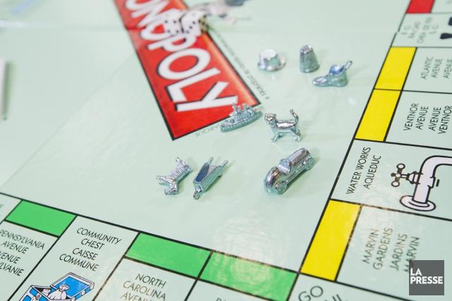 Monopoly... (PHOTO ÉDOUARD PLANTE-FRÉCHETTE, ARCHIVES LA PRESSE)
