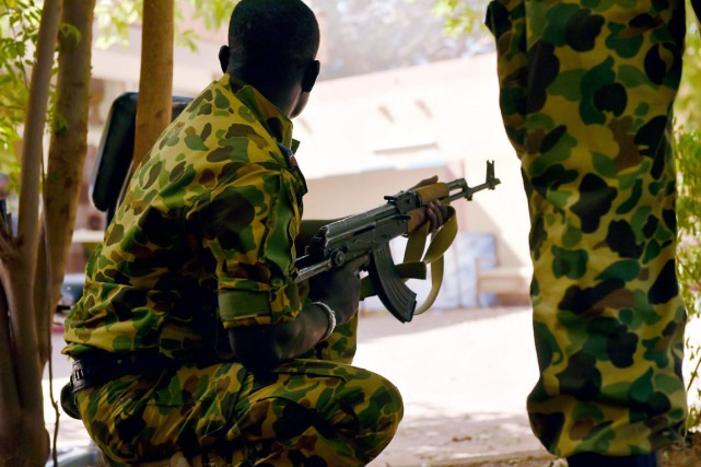 Il s'agit de la seconde attaque visant l'armée... (photo ISSOUF SANOGO, archives AFP)