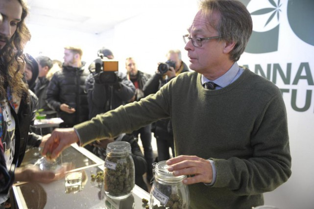 Marc Emery, le « prince du pot » autoproclamé, a... (PHOTO JULIEN BESSET, AGENCE FRANCE-PRESSE)
