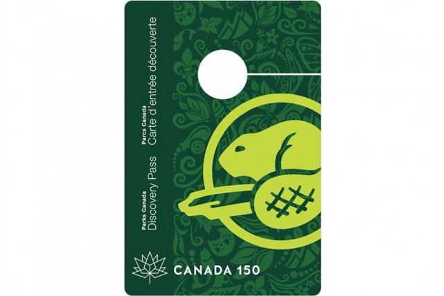 La carte d'entrée découverte, à présenter lors des... (Image fournie par Parcs Canada)
