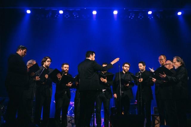 La chorale de la Congrégation Shaar Hashomayim a... (Photo Jean-Philippe Sanfaçon, fournie par Pop Montral)