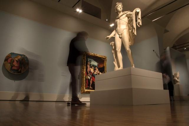 Il n'était encore que Bonaparte et déjà celui qui devint Napoléon pillait des... (PHOTO AFP)