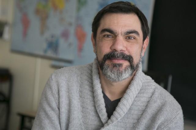 Daniel Rouillard est enseignant à l'école secondaire du... (Spectre Média, René Marquis)
