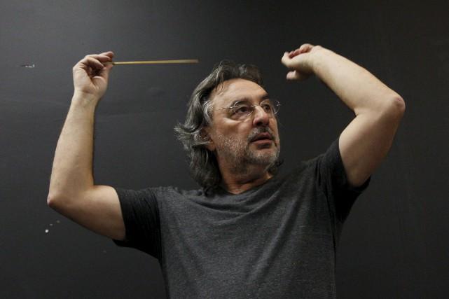 L'orchestre symphonique de Gatineau répète en vue du... (Simon Séguin-Bertrand, Le Droit)