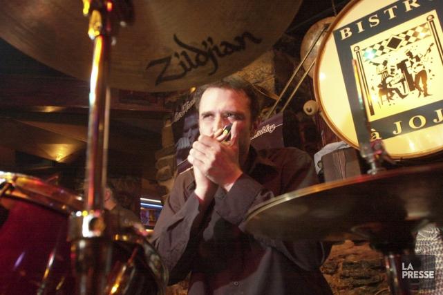 Le bluesmanCarl Tremblaysera en spectacle au Cabaret Eastman... (archives La Presse)