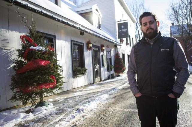 Martin Bilodeau, propriétaire du restaurant Le Buck, aurait... (Olivier Croteau)