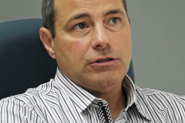 René Perron, ex-directeur général d'Hébertville... (Gimmy Desbiens)
