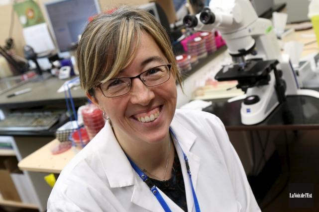 Ceque laDreMirabelle Kelly, microbiolo-giste infectiologue à l'hôpital de... (La Voix de l'Est, Janick Marois)