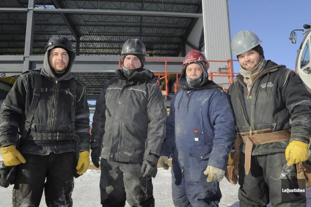 Rencontrés sur un chantier de construction, Keven Gagnon,... (Le Quotidien, Gimmy Desbiens)