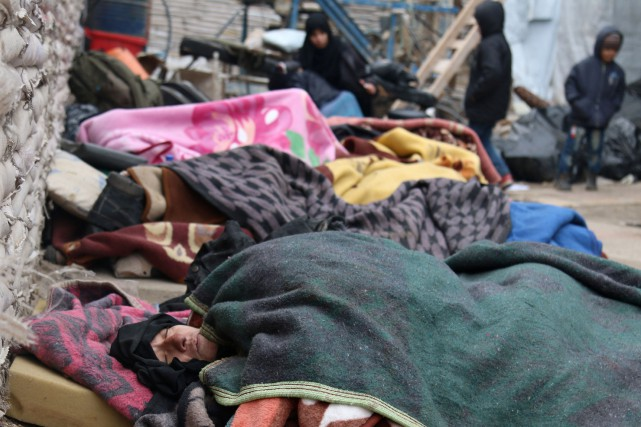 Il resterait environ 40 000 civils dans le... (PHOTO Abdalrhman Ismail, REUTERS)