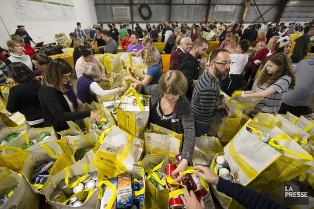 Pas moins de 137 000 personnes dans le... (PHOTO ROBERT SKINNER, ARCHIVES LA PRESSE)