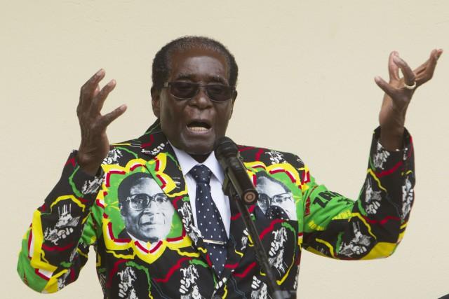 Robert Mugabe... (PHOTO Tsvangirayi Mukwazhi, AP)