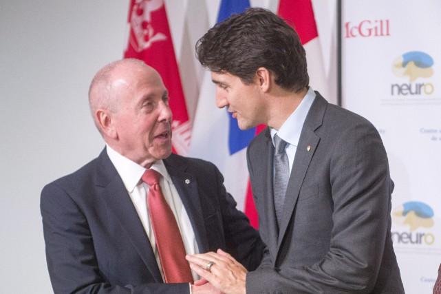 Le premier ministre du Canada Justin Trudeau était... (PHOTO Ryan Remiorz, LA PRESSE CANADIENNE)
