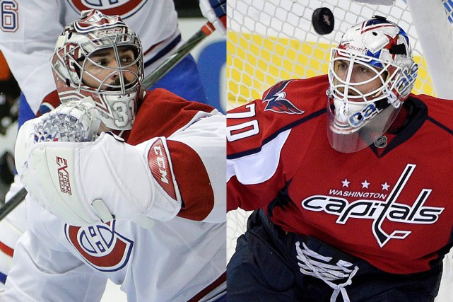 Carey Price et Braden Holtby... (PHOTOS ARCHIVES ASSOCIATED PRESS)