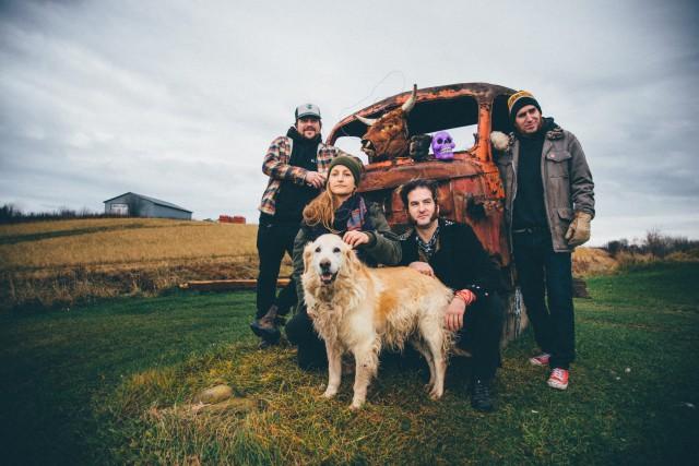 Québec Redneck Bluegrass Project offrira ses derniers spectacles... (Courtoisie, Nicolas Lévesque)