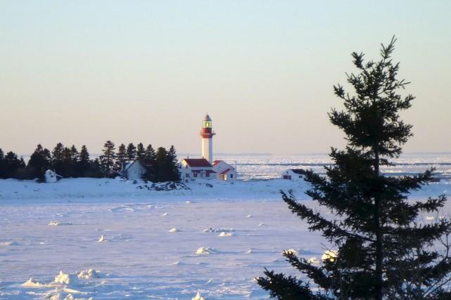 Le phare de Pointe-Mitis, que vient d'acquérir la... (Collaboration spéciale Johanne Fournier)