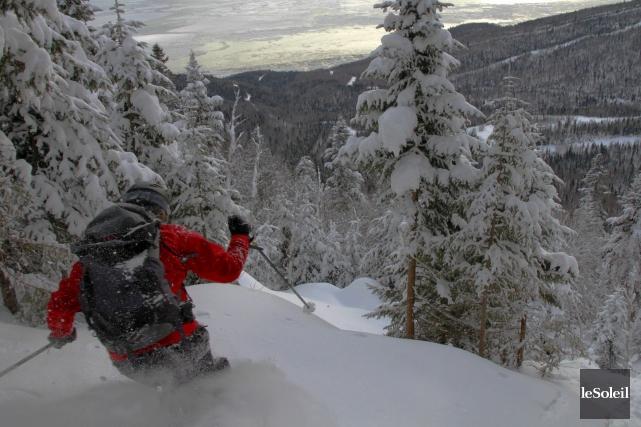 Les skieurs du nord-est des États-Unis pourraient bien... (Photothèque Le Soleil)