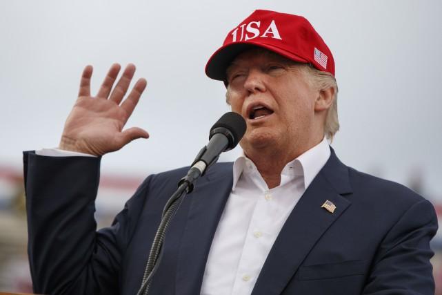 Donald Trump... (AP, Evan Vucci)