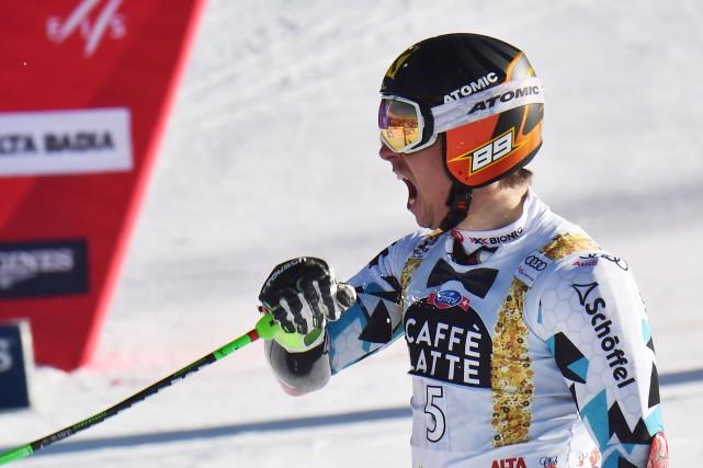Marcel Hirscher est parfaitement à son aise sur... (AFP, Giuseppe Cacace)