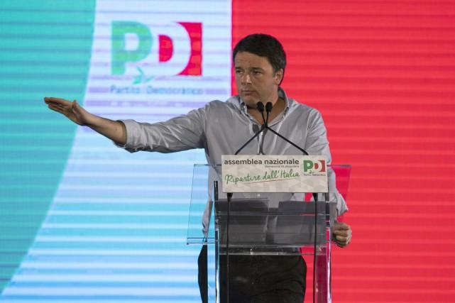 «Nous n'avons pas perdu, nous avons ultra-perdu», a... (AP, Massimo Percossi)