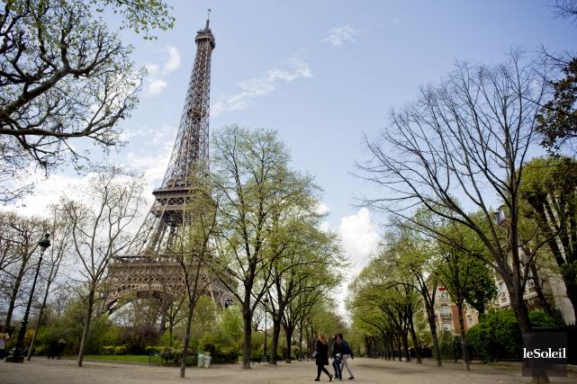 Le parc du Champ-de-Mars, situé à proximité de... (Photothèque Le Soleil)