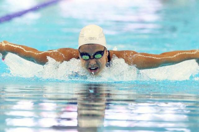 Son chrono enregistré au 400 m quatre nages... (Natation Canada)