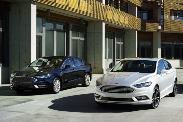 L'ordinateur de bord de la Ford Fusion reconnaît... (Photo : Ford)