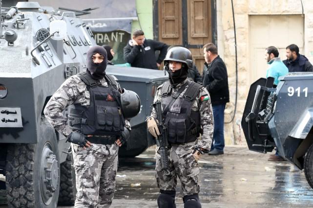 Les autorités jordaniennes ont annoncé lundi la saisie... (AFP)