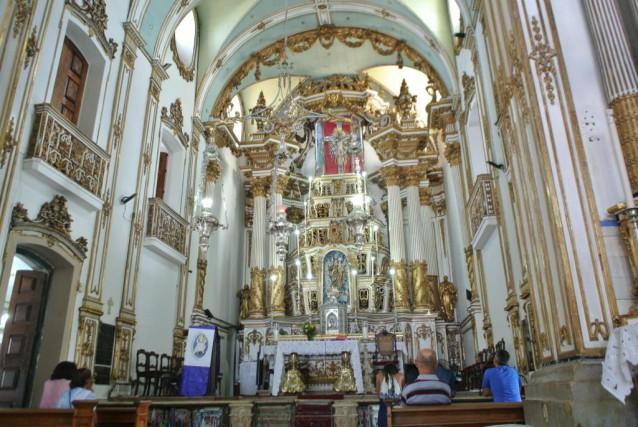 La basilique Nosso Senhor de Bonfim occupe une... (Photo David Riendeau, collaboration spéciale)