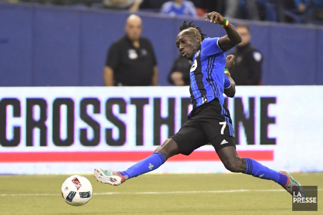 Dominic Oduro... (Photo Bernard Brault, La Presse)