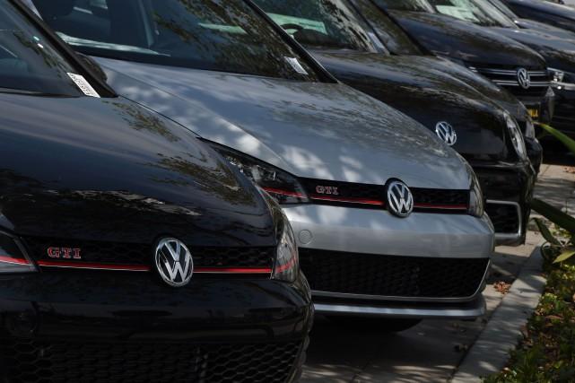 Les consommateurs canadiens qui possèdent des Volkswagen touchées... (Photo AFP)