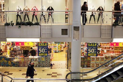 La concurrence au sein des détaillants canadiens a continué de s'intensifier... (Photo archives Getty Images)