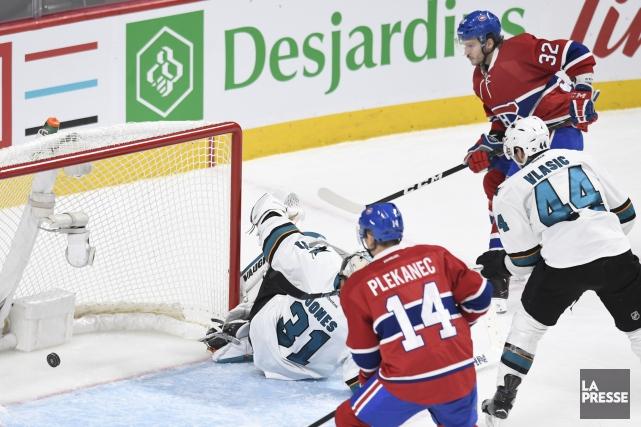 Le Canadien a marqué deux buts en seconde... (Photo Bernard Brault, La Presse)