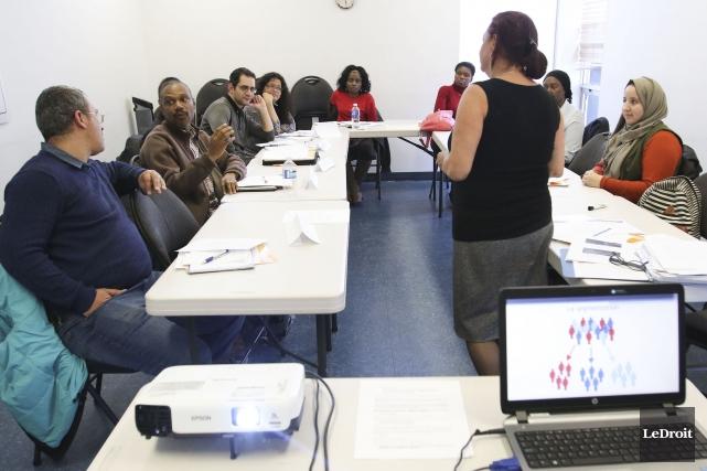 Le programme Devenir Entrepreneur n'est pas une formation... (Patrick Woodbury, Le Droit)