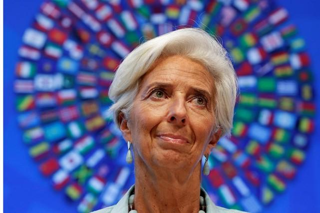 Christine Lagarde a été reconnue coupable de «négligence»... (Photo Yuri Gripas, archives REUTERS)