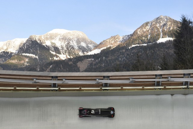 La piste de Königssee, en Allemagne... (Archives, Associated Press)