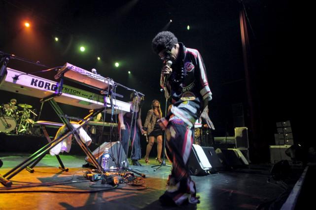 Sly Stone a ouvert la voie à une... (Archives, Agence France-Presse)