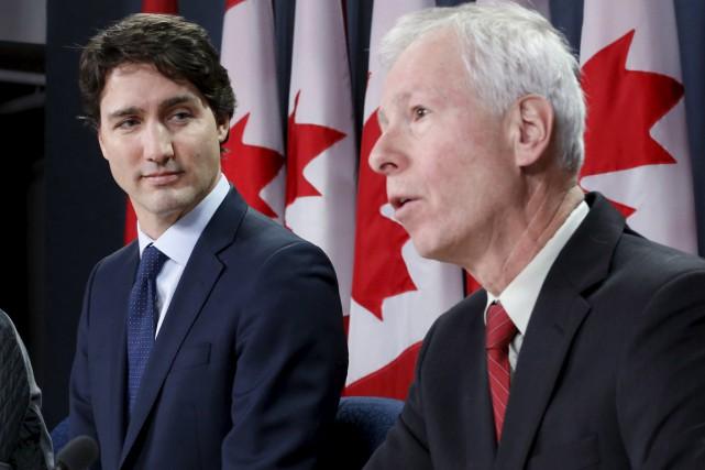 Le premier ministre canadien et le ministre des... (Photo archives Reuters)